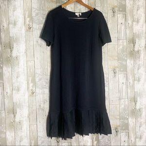 St. John | Pleated Bottom Dress